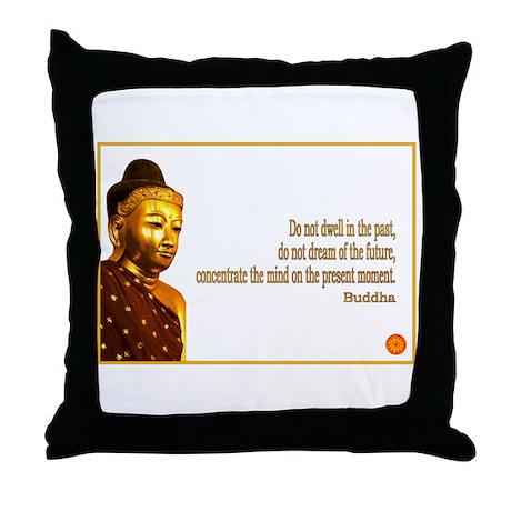 Buddha Buddhism Quotes Throw Pillow