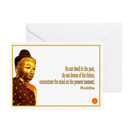 Buddha Buddhism Quotes Greeting Cards (Pk of 10)