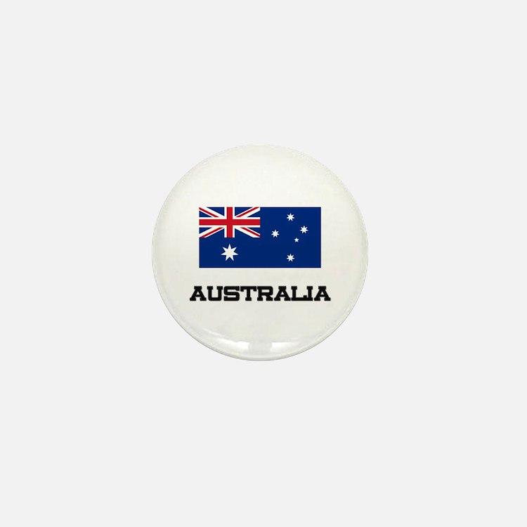 Australia Flag Mini Button (10 pack)