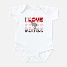 I Love Martens Infant Bodysuit