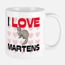 I Love Martens Mug