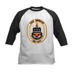 USS BRISCOE Kids Baseball Jersey