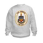 USS BRISCOE Kids Sweatshirt