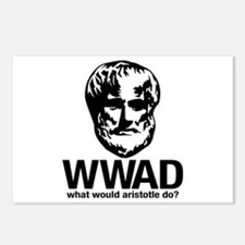 WWAD - Waht would Aristotle do? Postcards (Package