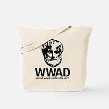 WWAD - Waht would Aristotle do? Tote Bag