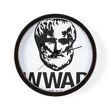 WWAD - Waht would Aristotle do? Wall Clock