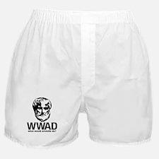 WWAD - Waht would Aristotle do? Boxer Shorts