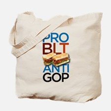 Pro-BLT, Anti-GOP Tote Bag