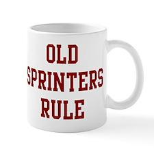 Old Sprinters Rule Mug
