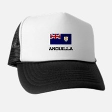 Anguilla Flag Trucker Hat