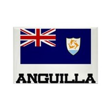 Anguilla Flag Rectangle Magnet