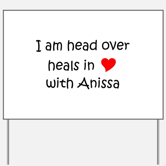 Cute Anissa Yard Sign