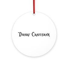 Dwarf Craftsman Ornament (Round)