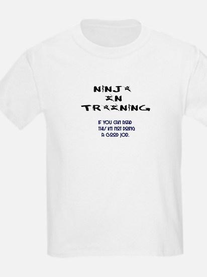 Ninja in Training Kids T-Shirt