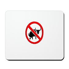 """""""No Bullshit"""" Mousepad"""