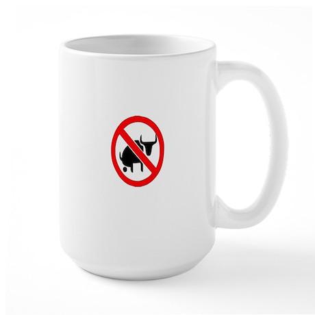"""""""No Bullshit"""" Large Mug"""