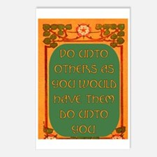 DO UNTO OTHERS.. Postcards (Package of 8)