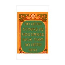 DO UNTO OTHERS.. Rectangle Sticker 10 pk)