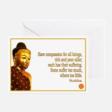 Buddha Buddhism Quotes Greeting Card