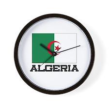 Algeria Flag Wall Clock