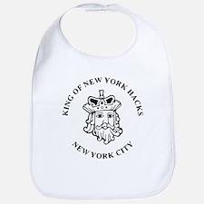Funny King new york Bib