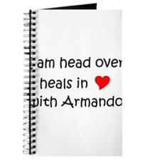 Funny I love armando Journal