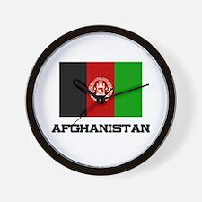 Afghanistan Flag Wall Clock