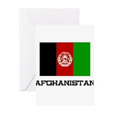Afghanistan Flag Greeting Card