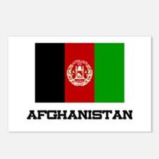 Afghanistan Flag Postcards (Package of 8)
