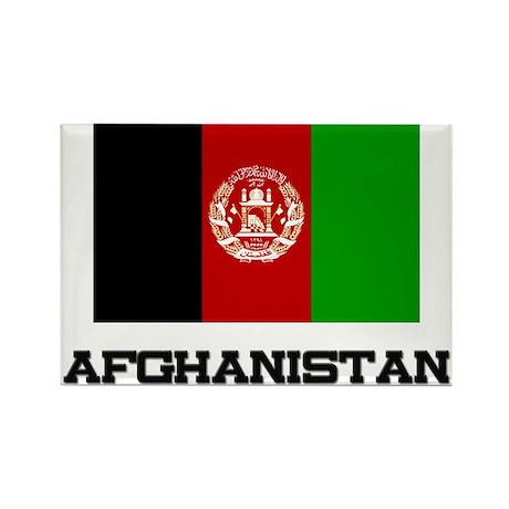 Afghanistan Flag Rectangle Magnet