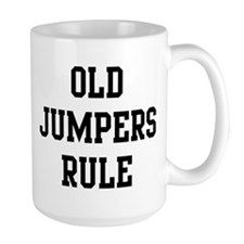 Old Jumpers Rule Mug
