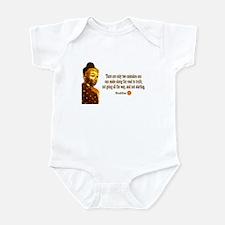 Buddha Buddhism Quotes Infant Bodysuit