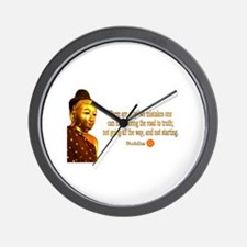Buddha Buddhism Quotes Wall Clock