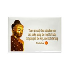 Buddha Buddhism Quotes Rectangle Magnet (100 pack)