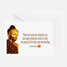 Buddha Buddhism Quotes Greeting Card