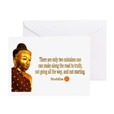 Buddha Buddhism Quotes Greeting Cards (Pk of 20)