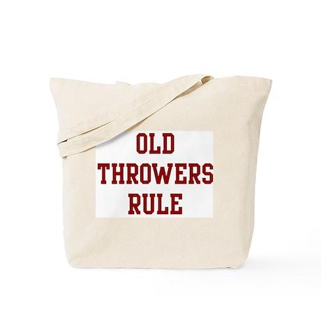 Old Throwers Rule Tote Bag