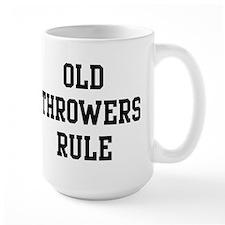 Old Throwers Rule Mug