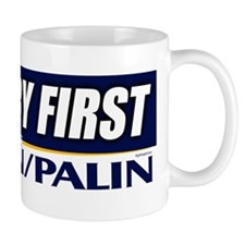 McCain Palin Country First Mug