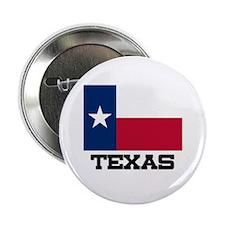"""Texas Flag 2.25"""" Button"""