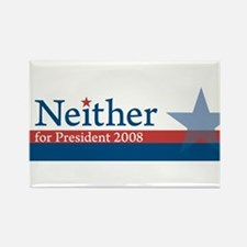 Cute Nader for president Rectangle Magnet
