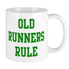 Old Runners Rule Mug