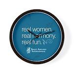 Real Women Wall Clock
