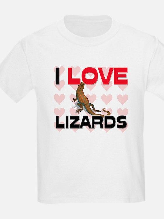 I Love Lizards T-Shirt