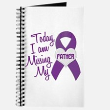 Missing My Father 1 PURPLE Journal