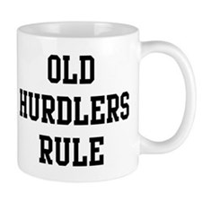 Old Hurdlers Rule Small Mug