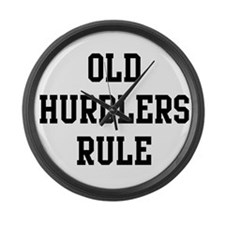 Old Hurdlers Rule Large Wall Clock