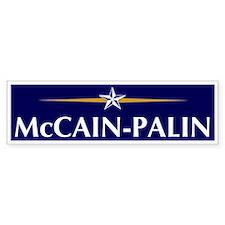 McCain-Palin (campaign logo) Bumper Bumper Sticker