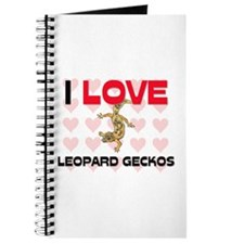 I Love Leopard Geckos Journal