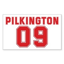 PILKINGTON 09 Rectangle Decal